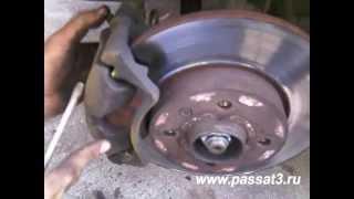 видео Замена опор и подшипников передних стоек VW Passat B3 на HD для плохих дорог как у Passat B4