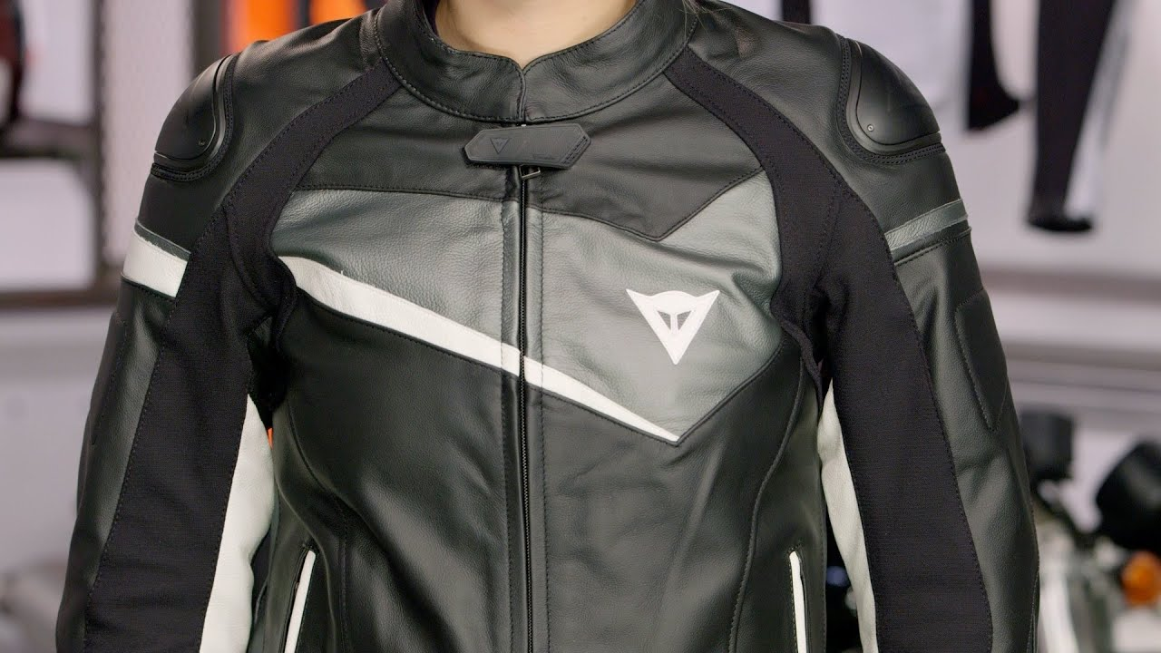 Dainese Women's Veloster Leather Jacket Review at RevZilla ...