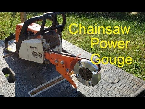 Unboxing and trying out a Power Gouge