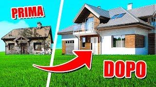 La mia casa È diventata una villa di lusso!! - house flipper