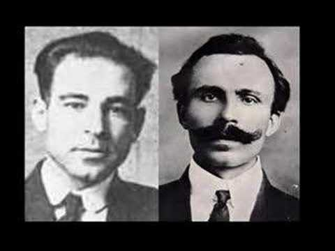 Sacco and Vanzetti - song by Woody Guthire & David Rovics