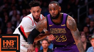 Los Angeles Lakers vs Portland Trail Blazers Full Game Highlights | 11.14.2018, NBA Season