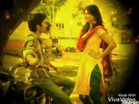 Uyire uriye line for whatsapp status kannazhga song from 3 movie