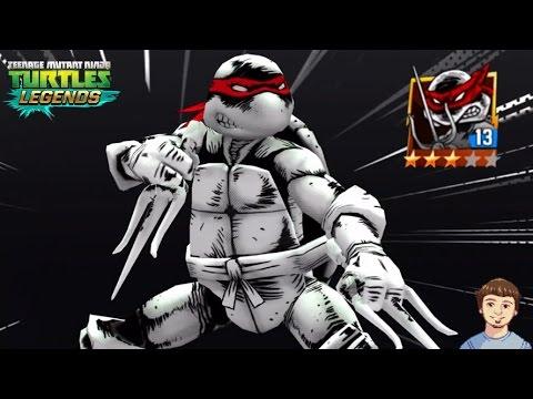 TMNT Legends - Comic Book RAPHAEL (Original) Gameplay Overview!
