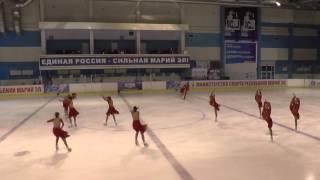 Чемпионат России по синхронному катанию  КМС  ПП 6 Пируэт ОРГ