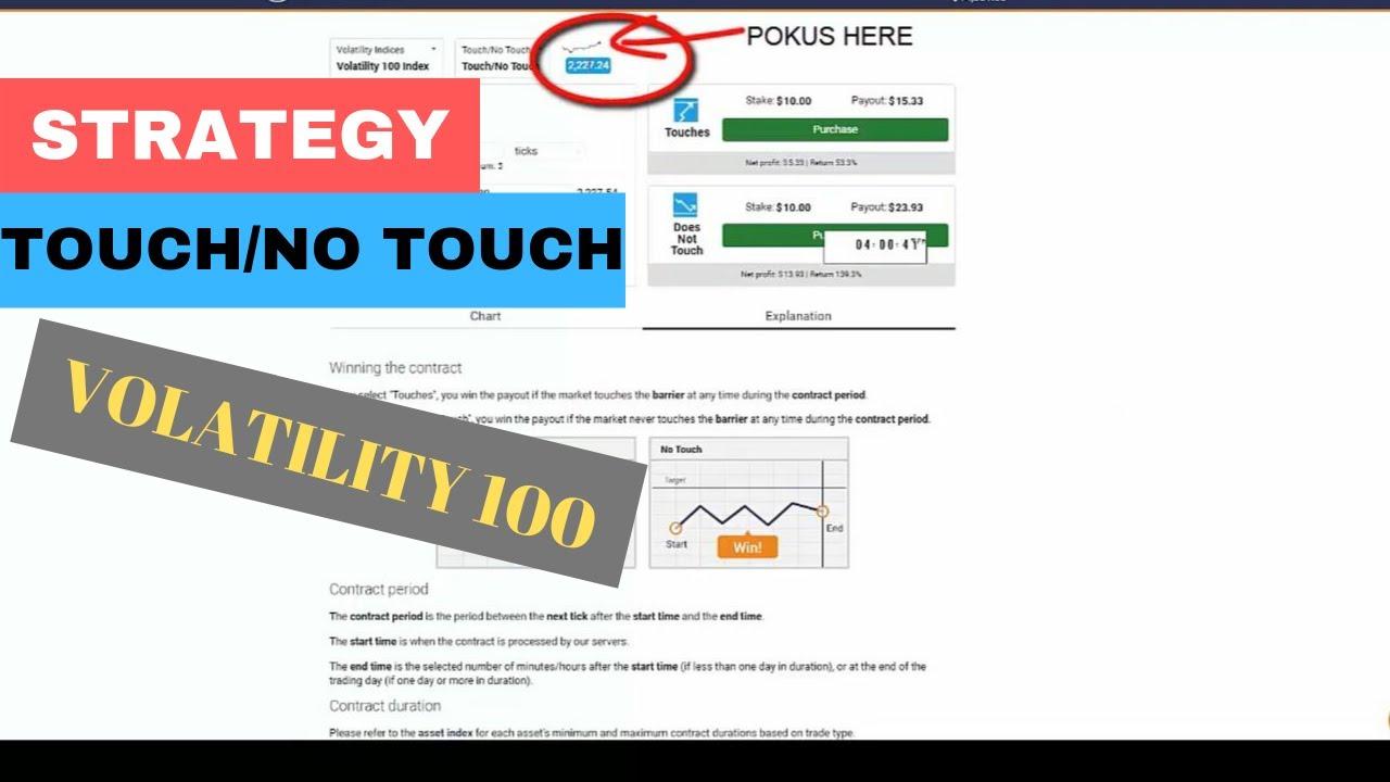 opțiuni binare strategie video one touch)
