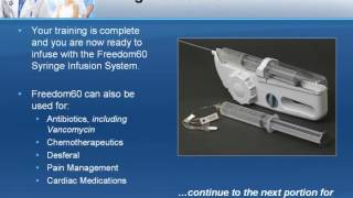 Freedom 60 Infusionspumpe - Syringe Infusion System