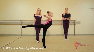 Эстетическая гимнастика для детей / Нормативы СФП для 4 и 5 года обучения