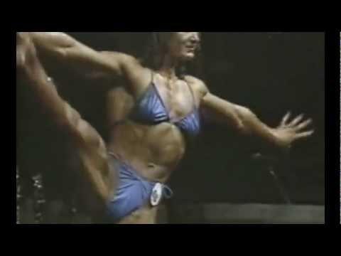 Muscular female bodybuilder lisa cross topless video - 1 7