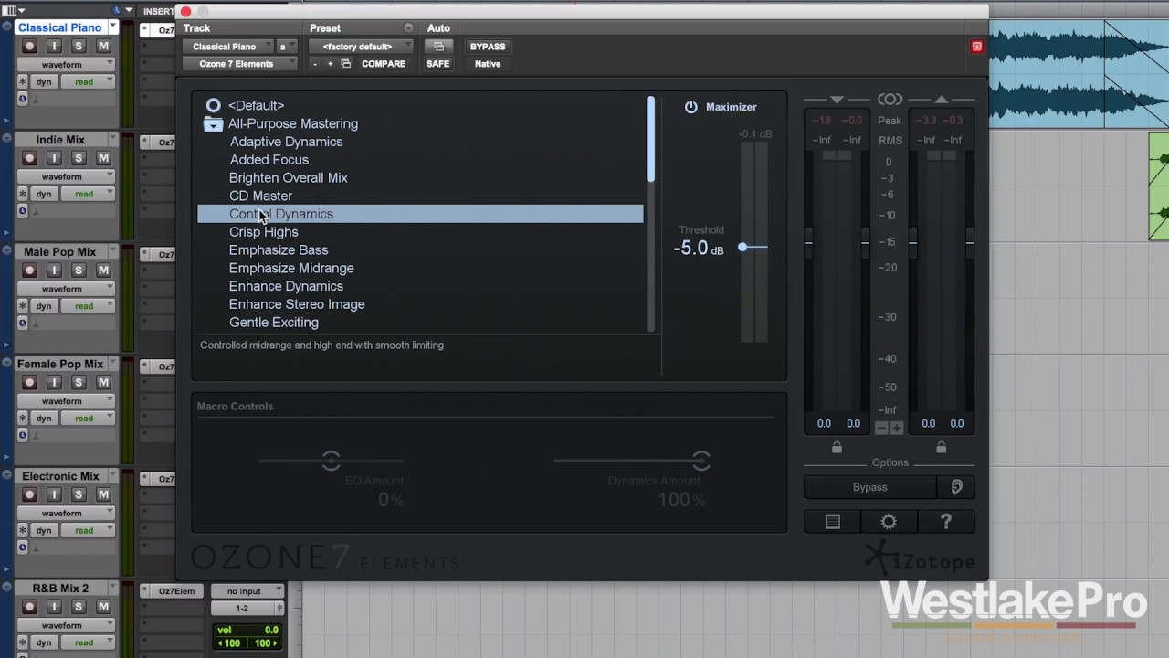 Ozone 7 Elements by iZotope Review + First Look | Westlake Pro