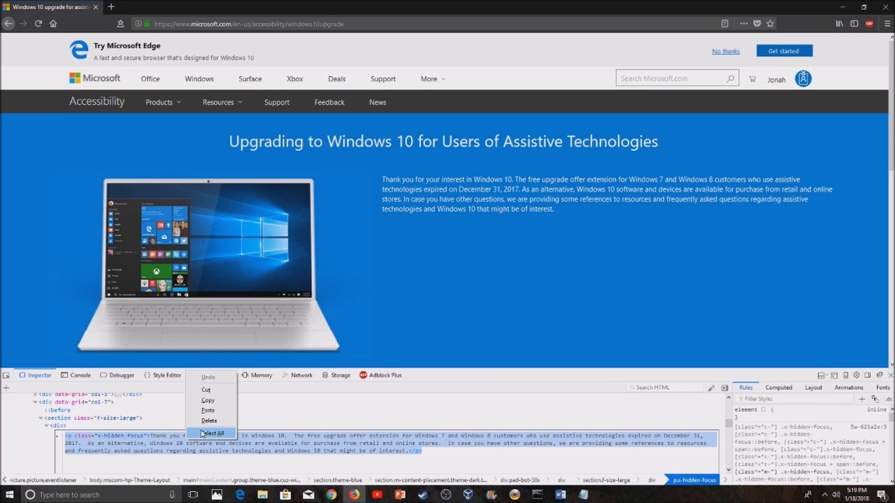 How to get the Windows 10 Upgrade for free in 2018