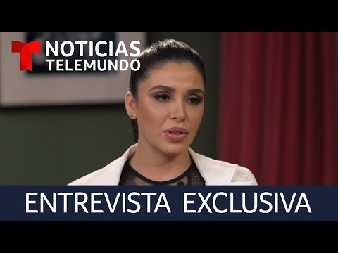 """Entrevista en Exclusiva a Emma Coronel, esposa de Joaquín """"El Chapo"""" Guzmán   Noticias Telemundo"""
