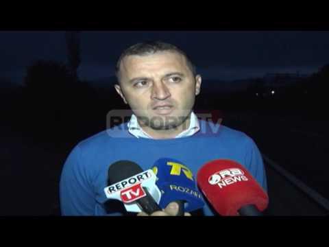 Report TV - Shiu i dendur në Rrëshen, lumi dëmton unazën e qytetit