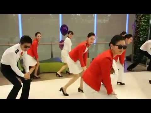 T'way Airlines - Cabin Crew Gangnam Style