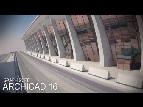 Classics modeled with ArchiCAD – Dulles International Airport