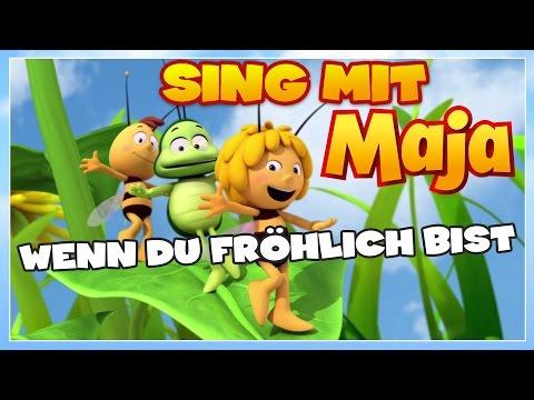 Sing mit der Biene Maja! ✿ Wenn du fröhlich bist ✿