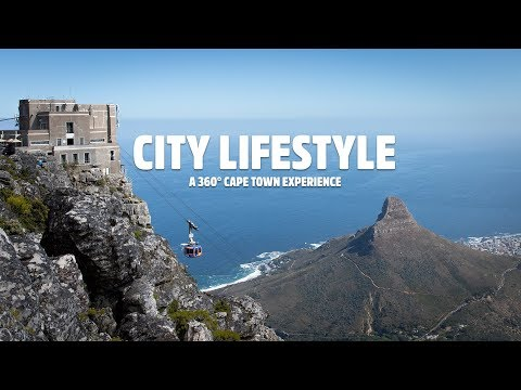 See 360° of the City of Cape Town