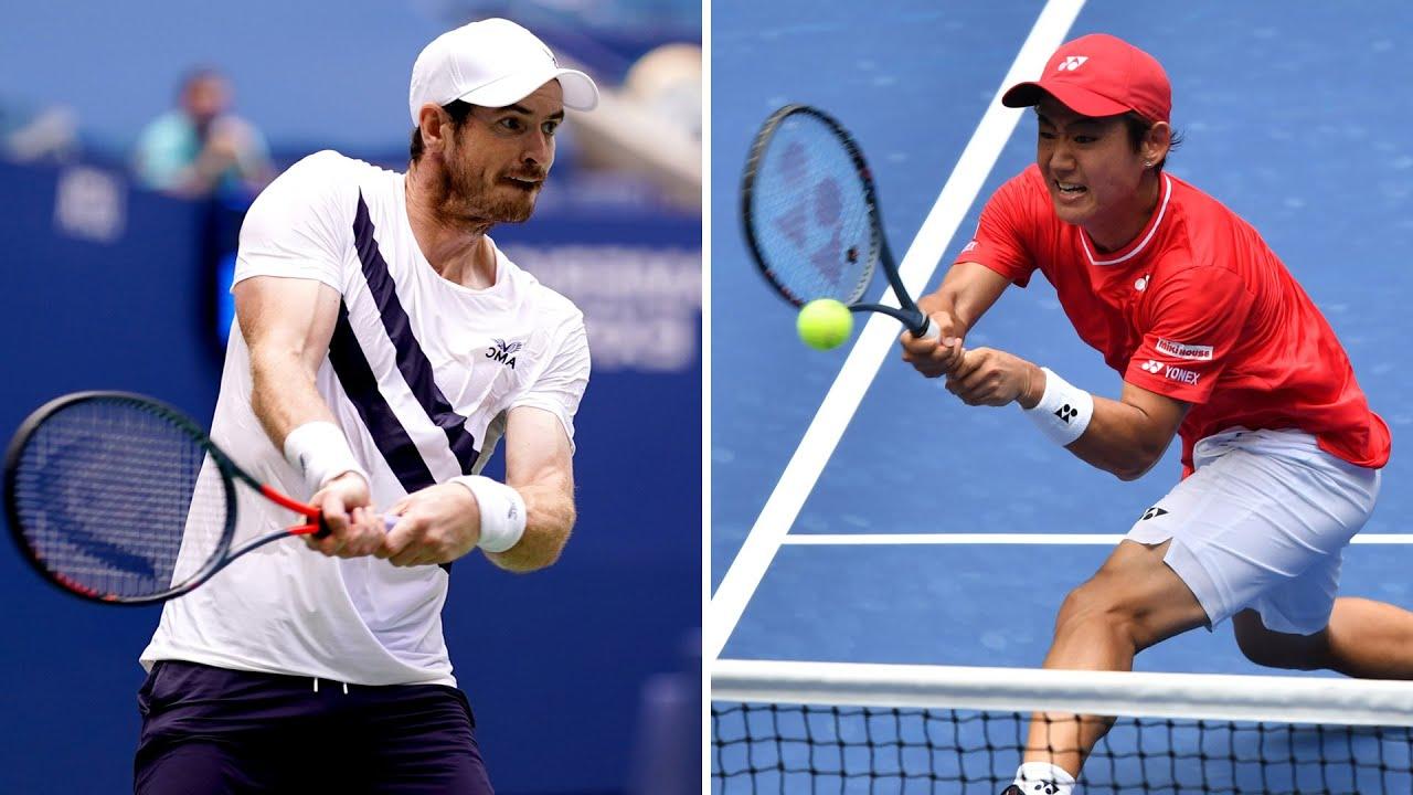 Andy Murray vs Yoshihito Nishioka Extended Highlights | US Open 2020 Round 1
