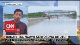 Banjir, Tol Ngawi-Kertosono Ditutup