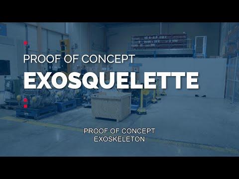 Innovation by Daher - L'exosquelette un outil de prévention efficace