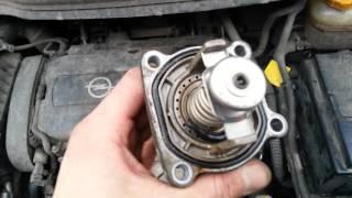 Opel Zafira обзор замены термостата | Авто Писковик(Ремонт Opel Zafira b видео обзор замены термостата. Сегодня Вы узнаете как поменять термостат на Опель Зафира..., 2015-12-19T12:11:36.000Z)