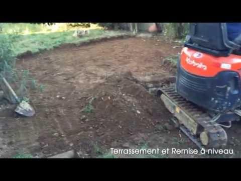 Terrassement Et Enrobé Dans Le 26 - Youtube