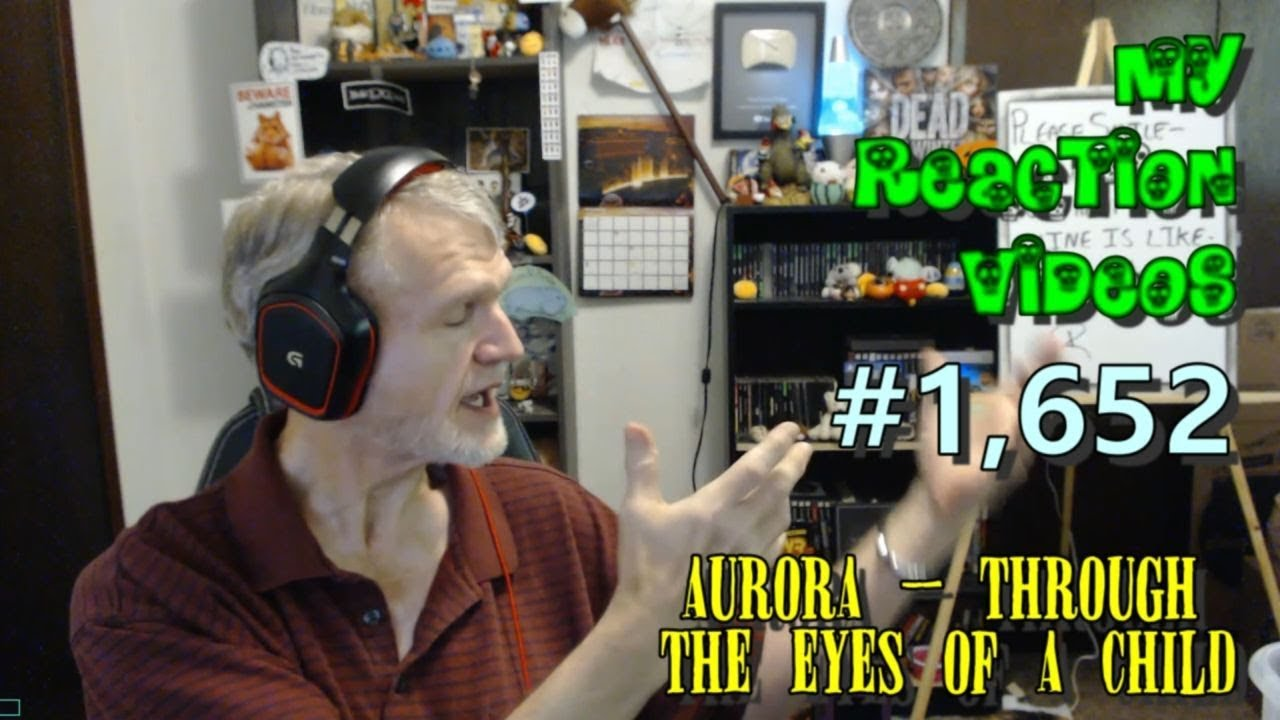 AURORA - Through The Eyes Of A Child : My Reaction Videos #1,652