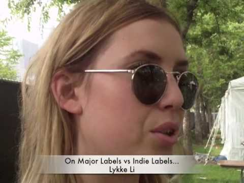 Interview With Lykke Li At Lollapalooza 2009