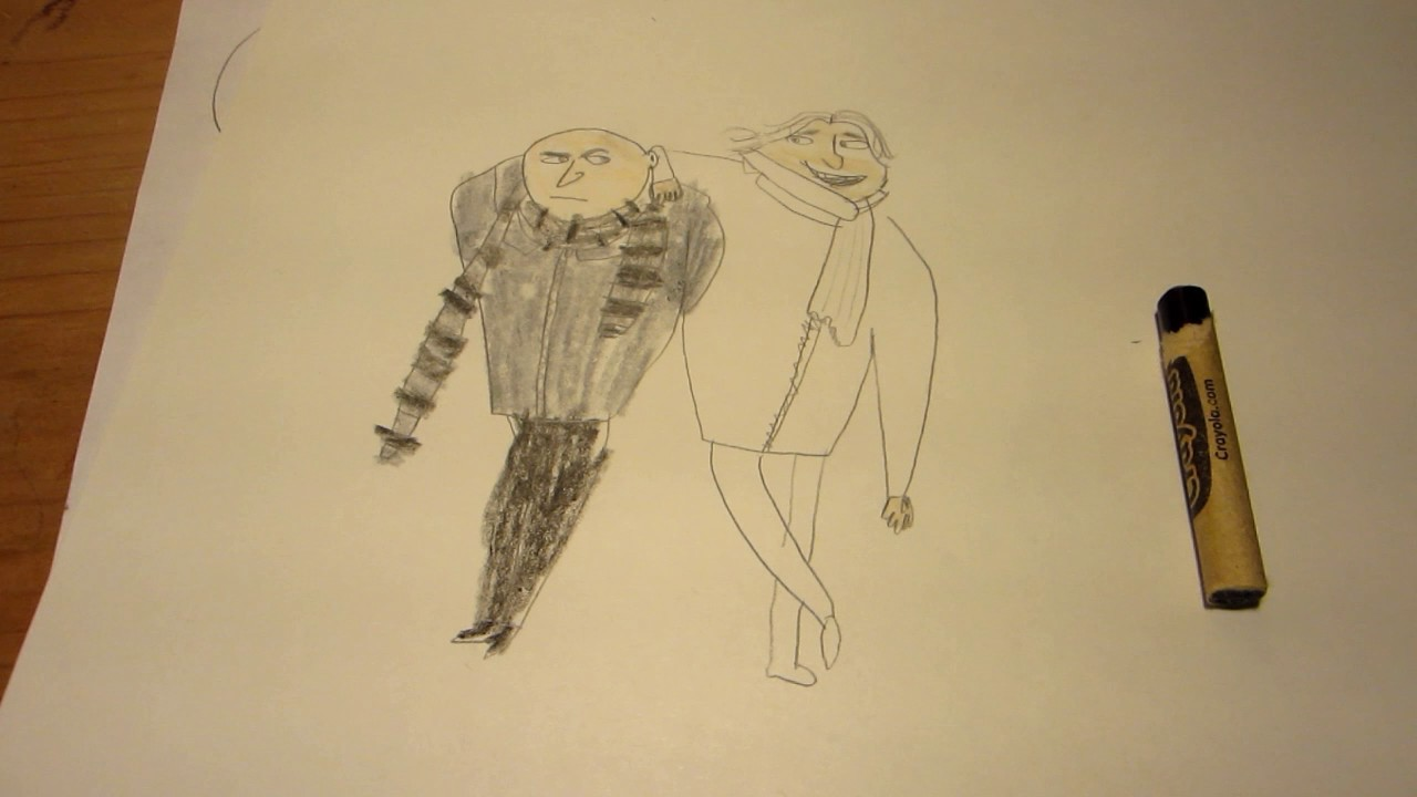How to draw gru dru from despicable me3 youtube how to draw gru dru from despicable me3 thecheapjerseys Choice Image