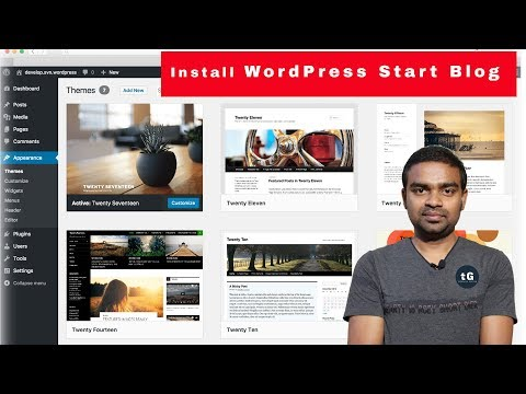 How to Install WordPress? How to write my First Blog? Web Devlopment Series #2 - 동영상