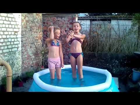 Cap ou pas cap dans la piscine