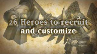 Dawn of Heroes (Nintendo DS) trailer from Majesco