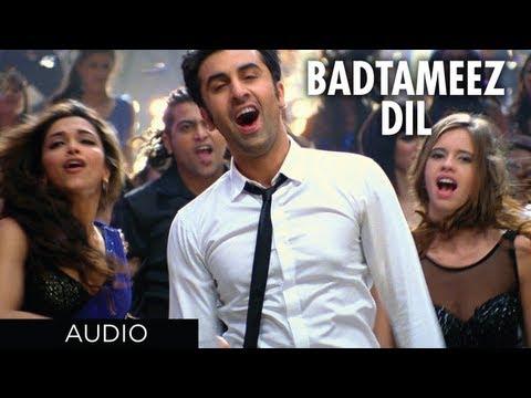 Badtameez Dil Full Song Yeh Jawaani Hai Deewani (Official) Feat. Ranbir Kapoor, Deepika Padukone
