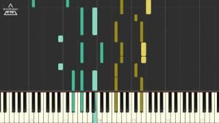 방탄소년단 (BTS) - Butterfly Piano Tutorial