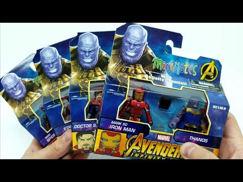 Avengers Infinity War MINIMATES Complete Walgreen's Set!
