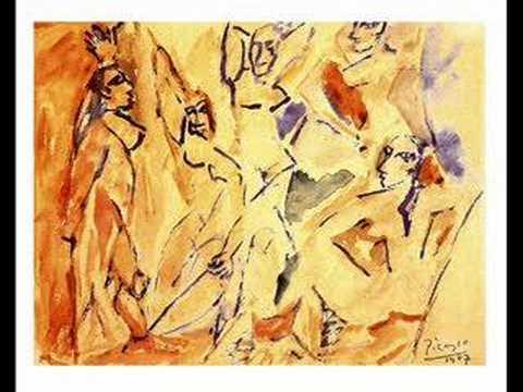 painter of les demoiselles d avignon