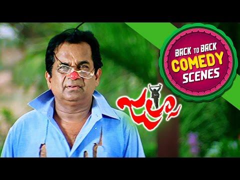 Brahmi Back To Back Comedy || Jalsa Movie || Pawan Kalyan, Ileana, Brahmanadam