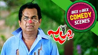 Brahmi Back To Back Comedy || Jalsa Movie || Pawan Kalyan, Ileana, Brahmanadam