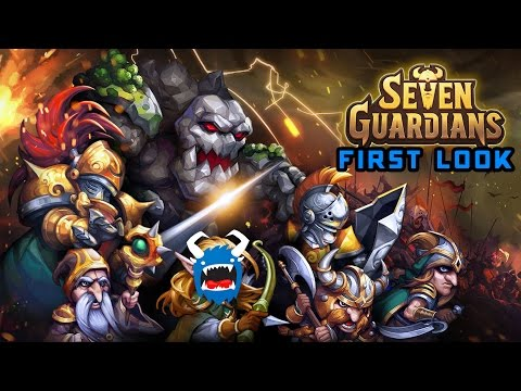 Seven Guardians: Mobile First Look - Norse Mythology Base Rush