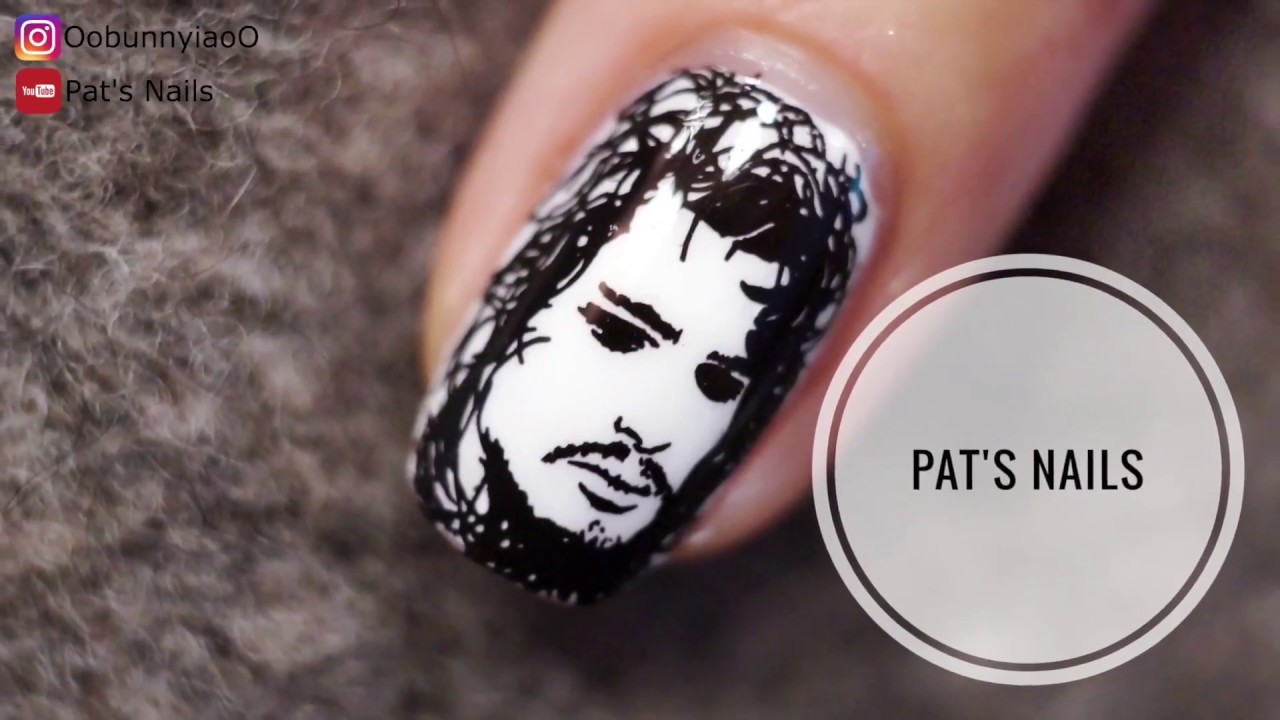 Game of Thrones Nail Art - YouTube