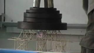 heavy duty toothpick bridge