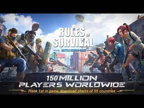 CUSTOM??  KUY GAS KEN !!! - Rules of Survival PC Indonesia