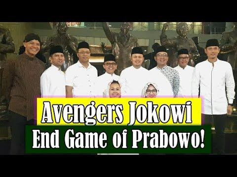 Avengers Jokowi End Game Of Prabowo!