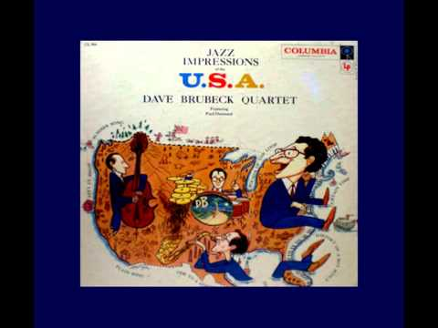 DAVE BRUBECK QUARTET - Curtain Time (1957) 1st Time Posted!