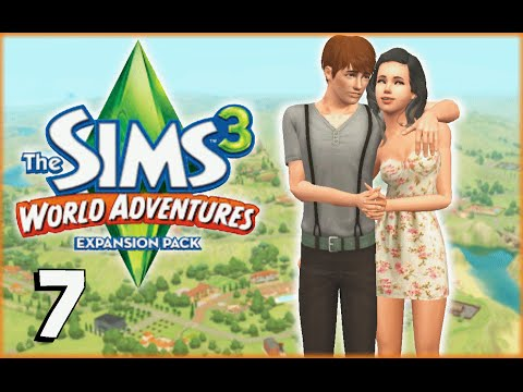 """""""BARBARIAN DALLAS"""" Let's Play: The Sims 3 World Adventures: Part 7"""
