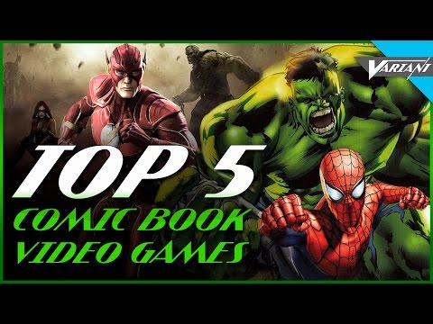 Top 5 Comic Book Video Games!