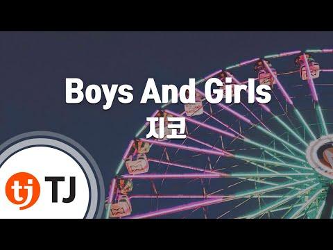 [TJ노래방] Boys And Girls - 지코(Feat.바빌론) (Zico) / TJ Karaoke