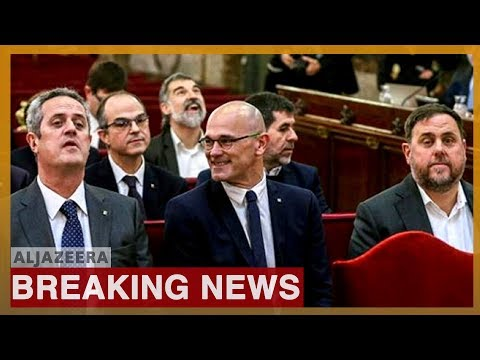 Spain: Catalan leaders get 13 years in jail for sedition