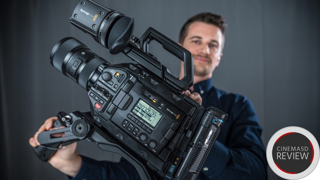 Blackmagic Design URSA Mini Pro Review - Hands-On Video