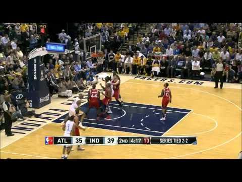 Atlanta Hawks @ Indiana Pacers 0105.13 Full Game Recap NBA Playoff Highlights 2013